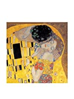 Artopweb Panel Decorativo Klimt Il Bacio Detail 30x30 cm Multicolor