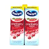 Ocean Spray Cranberry Juice 4 Pack 4000g
