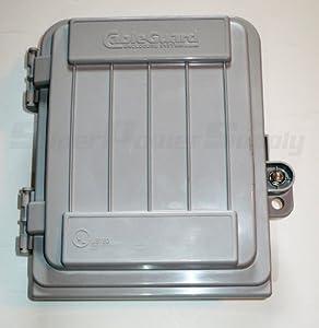 Cableguard cg 500 coax demarcation enclosure outdoor - Sealing exterior electrical boxes ...