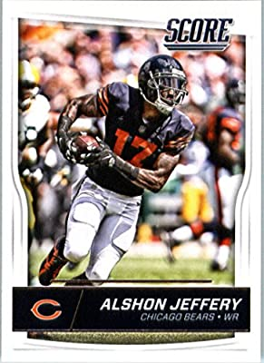 2016 Score #57 Alshon Jeffery Chicago Bears Football Card