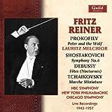 echange, troc Mozart, Prokofiev, Bach, NBC So, Reiner - Reiner dirigiert Peter und der Wolf