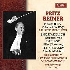 Fritz Reiner Conducts Prokofiev Debussy