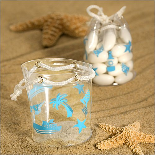 Stylish beach bag favors (Set of 36) - Wedding Favors