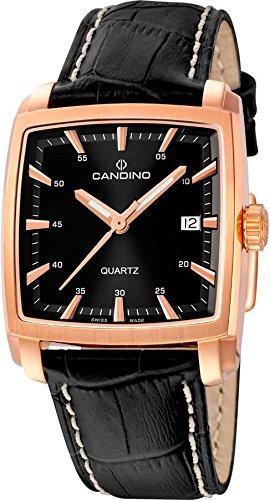 Candino Elegance C4373/B Reloj de Pulsera para hombres Fabricado en Suiza