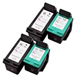 Sophia Global Remanufactured Ink Cartridges for HP 96 and 97 (2 Black, 2 Color) Baby, NewBorn, Children, Kid, Infant