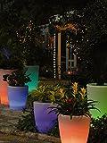Solar Illuminated Planter, Tall