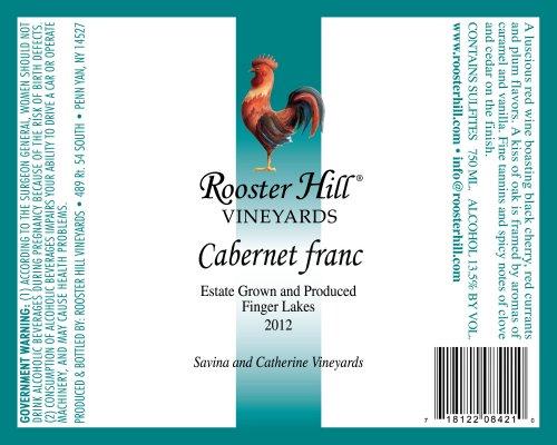 2013 Rooster Hill Vineyards Cabernet Franc 750 Ml