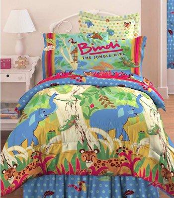 Bindi Jungle Animals Comforter Twin Bedding Set