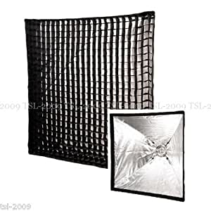 PIXAPRO EasyOpen 100x100cm Umbrella Softbox 4cm Grid Bowens S Fit Large Profold PIXAPRO 100x100cm Square 4cm Grid Easy-open Umbrella Softbox (S type fitting) Compatible with Lencarta, Walimex VC / K + DS, Aurora, Calumet, Rime Lite, Fotoquantum, Lastolite, For Bowens, For Interfit: Stellar/Venus