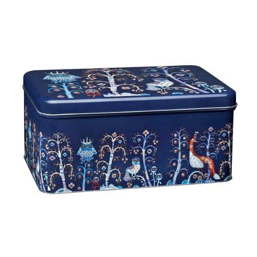 Taika blau Metal Dose 280x178x130mm