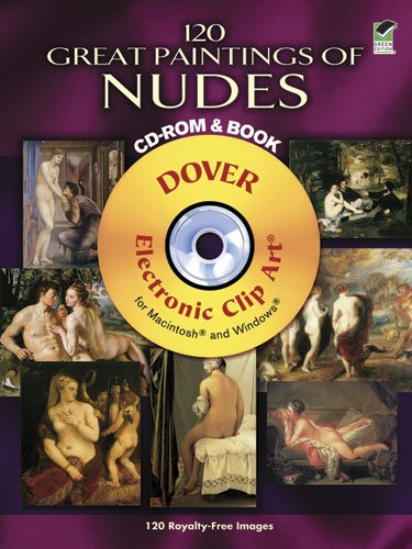 120 Great Paintings of Nudes (CD Rom & Book)
