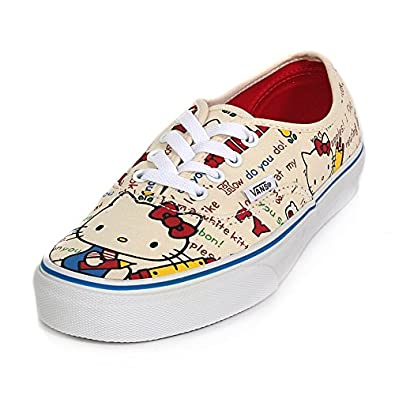 Buy Vans Hello Kitty Authentic Skate Shoes Red White by Vans