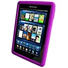 Pandigital Silicone Skin for Model R70E200 Novel (Black) 2 GB 7-Inch eReader - Purple(COVSSI7PU1 )