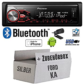 Ford ka-pioneer mVH-x380BT autoradio bluetooth mP3/uSB avec kit de montage
