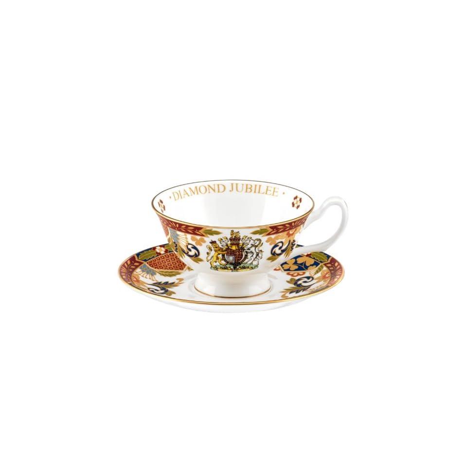 Royal Worcester Queen Elizabeth II Diamond Jubilee Plate
