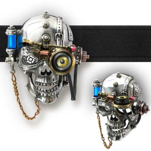 Alchemy Empire: Steampunk Necronaut Belt Buckle