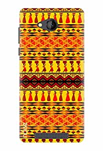 Noise Designer Printed Case / Cover for Lava A67 / Patterns & Ethnic / Ancient Desert Design