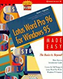 Word Pro for Windows 95 Made Easy: The B...