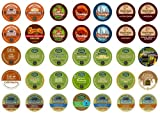 Crazy cups of flavored coffee Sampler Pack, K-Cup Portion Pack for Keurig Brewers, gift pack, 35-Count