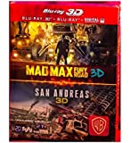 San Andreas + Mad Max: Fury Road [Combo Blu-ray 3D + Blu-ray + Copie digitale]