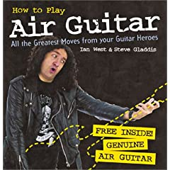 Livre sur l'air guitar, in english