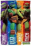 Teenage Mutant Ninja Turtles : Donny, Leo, Mickey et Ralph ! Poster grand format 61 x 91.5 cm