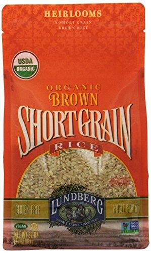 Lundberg Organic Short Grain Brown Rice, 32-Ounce (Pack of 6) (Organic Whole Grain Brown Rice compare prices)