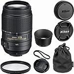 Nikon 55-300mm f/4.5-5.6G ED VR AF-S...