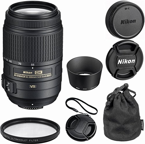 Nikon 55-300mm f/4.5-5.6G ED Photo