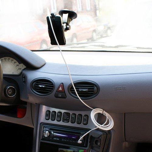 System-S Sound Kabel Soundkabel Verbindungskabel für Auto Autoradio Musikanlage Klinke auf Klinke für Apple iPhone 2G 3G 3GS 4 4S
