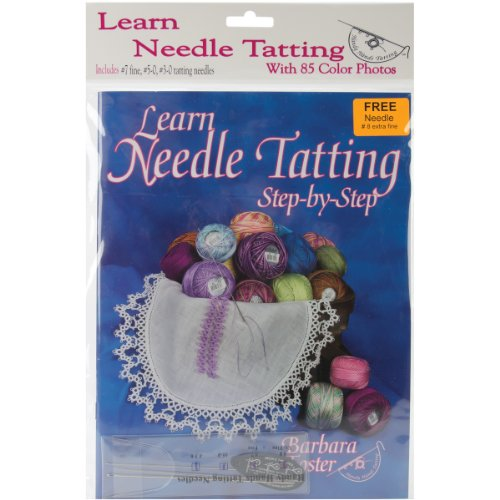 Big Save! Handy Hands Learn Needle Tatting Step By Step Kit