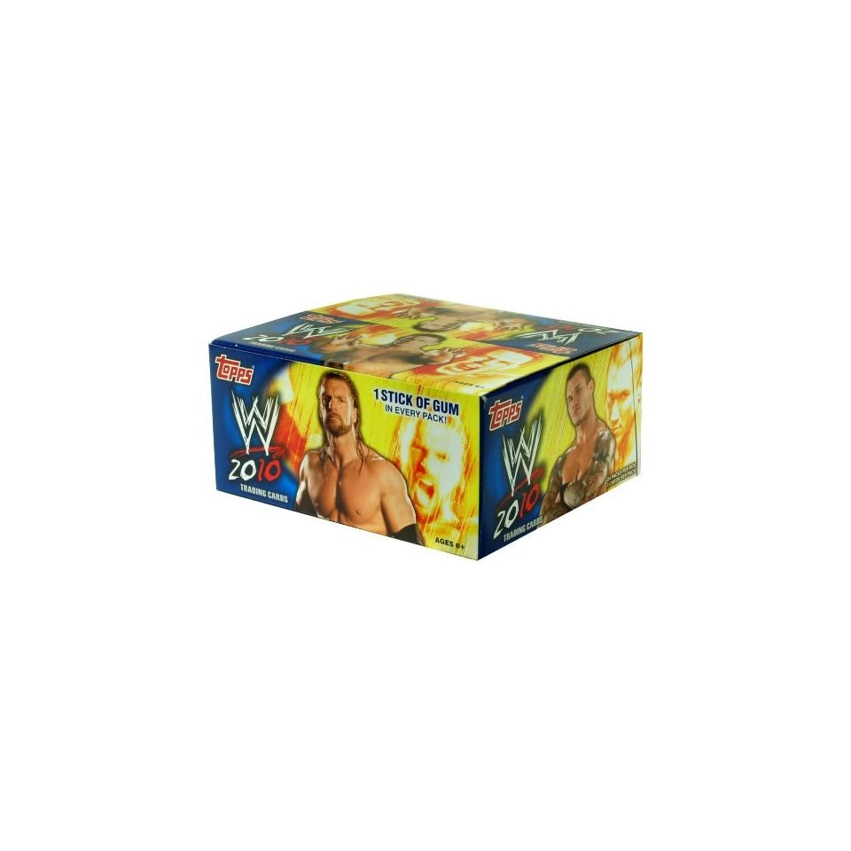 WWE Topps 2010 Platinum Trading Cards Box of 24 Packs HOBBY