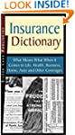 Insurance Dictionary: What Means What...