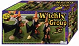Forum Novelties Witches Lawn Ornaments, Set of 3