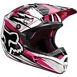 Black/Pink XL Fox Racing V1 Undertow Women's Helmet