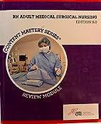 RN Adult Medical Surgical Nursing Edition 9.…