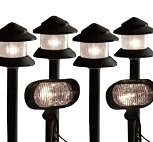 6 Piece Low Voltage Garden Lighting Kit Lighting