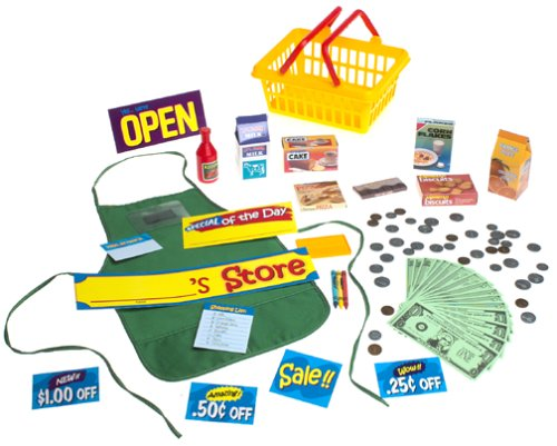 Pretend and Play Supermarket Set - Buy Pretend and Play Supermarket Set - Purchase Pretend and Play Supermarket Set (Learning Resources, Toys & Games,Categories,Pretend Play & Dress-up,Sets,Cooking & Housekeeping,Play Food)