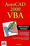 Autocad 2000 Vba Programmer's Reference