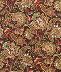 Swavelle / Mill Creek Valentina Espresso Fabric - by the Yard from Swavelle / Mill Creek