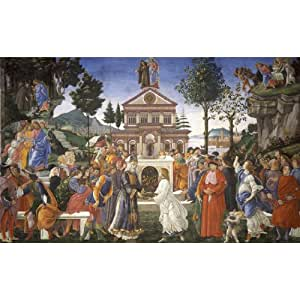 Sandro Botticelli Painting 23x14 Western Art ArtPrint Poster 06C/Small Size