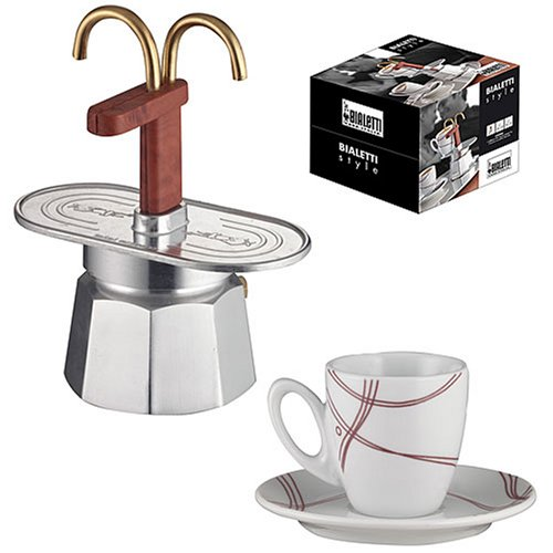 Stovetop Coffee Maker Gift : Bialetti 6972 Mini Express Gift Set www.cafibo.com