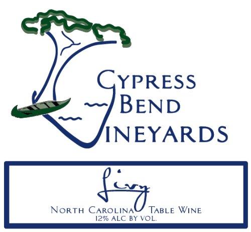 Nv Cypress Bend Vineyards Livy North Carolina White Table Wine 750 Ml