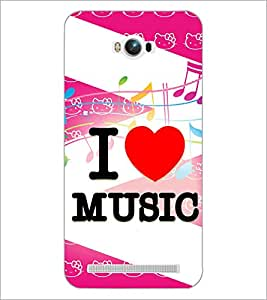 PrintDhaba Quote D-3854 Back Case Cover for ASUS ZENFONE MAX ZC550KL (Multi-Coloured)