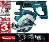 Makita BSS611Z 18V 165mm Cordless Circular Saw Plus BHR202Z 18V Cordless SDS-Plus Rotary Hammer (Body Only)