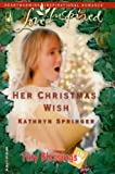 img - for Her Christmas Wish (Tiny Blessings Series #5) (Love Inspired #324) book / textbook / text book