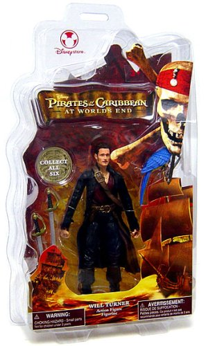 Picture of Disney Pirates of the Caribbean At World's End Disney Exclusive Action Figure Will Turner (B000QU56A8) (Disney Action Figures)