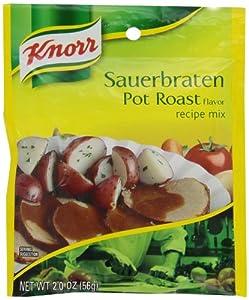 Knorr Entree Mixes-Pot Roast (Sauerbraten) Recipe Mix, 2-Ounce Packet (Pack of 12)