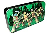 TMNT Teenage Mutant Ninja Turtles Hinged Storage Tin Box Pencil Case