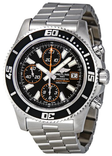 Breitling Men's A1334102-BA85 Superocean Chronograph Watch